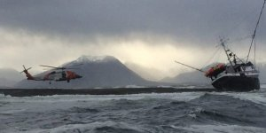 Two kayakers rescued by USCG near Juneau, Alaska