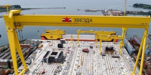 First Russian Aframax tanker launched