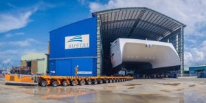 Austal Vietnam launched its first ferry