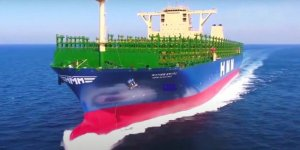 World's largest containership passed through the Suez Canal