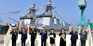 Hyundai launches 4th Daegu-Class FFX Batch II Frigate