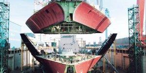 Korean shipbuilders lag far behind Chinese rivals