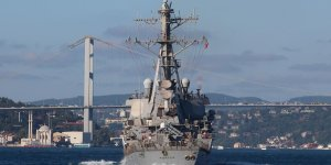 U.S. Navy's destroyer enters the Black Sea