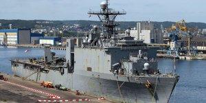 USS Oak Hill en route to the Black Sea