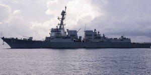 US warship sails near Venezuela after arriving of Iranian ships