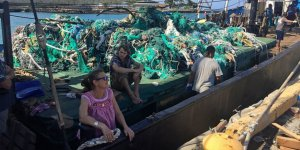 More than 100 tons of fishing nets found in Gyre
