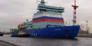 Nuclear-powered icebreaker Arktika to be deployed