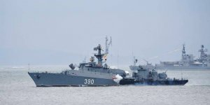 Russian Pacific Fleet held drills in the Sea of Japan