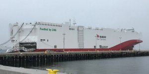 Volkswagen's first LNG-powered car carrier to arrive in Mexico