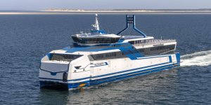 RoPax ferry powered by LNG completes trials at sea