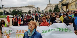 Bulgarians protest against unrestricted construction in Black Sea coast