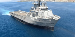 Greece commissions general support ship donated by ex-president