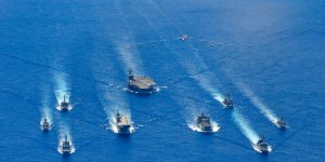 Australia and Japan joined U.S. for trilateral naval exercise