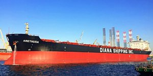 Diana Shipping Inc. reported a net loss of $10.8 million