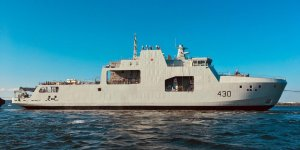 Canada's first Arctic and offshore patrol ship launched