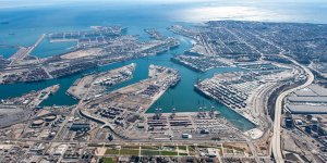 Los Angeles Port to use zero-emissions top handlers