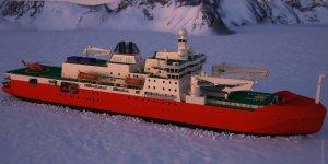 Australia's new icebreaker on sea trials