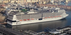 MSC Grandiosa welcomes first guests in COVID-19 pandemic
