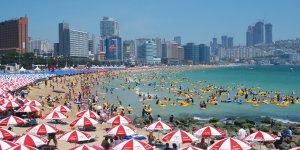 South Korea closes Busan beaches due to spiking virus cases