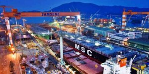 Fire at Samsung Heavy Industries caused the death of a worker