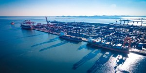 Port operator COSCO plans to buy container terminal in China