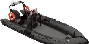 Unmanned vessel that identifies piracy threats launched