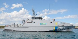 Austal Australia delivered patrol boat to  Australian Department of Defense