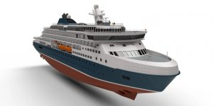 Knud E Hansen introduced new icebreaking cruise ship
