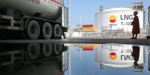 LNG imports of China increased