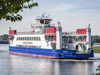 Damen delivers RoRo ferry to the Gambia more than a month ahead of schedule