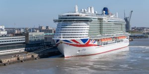 Meyer Werft delivers LNG-powered cruise ship to P&O Cruises