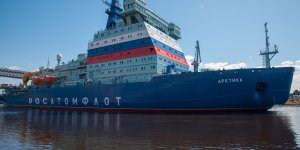 Arktika arrived to its homeport Murmansk