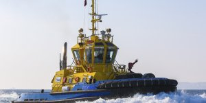 Seychelles Ports Authority to accept delivery of the new tug from Sanmar