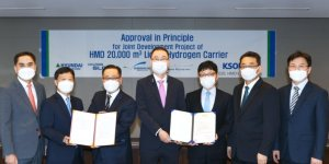 LISCR approves  liquefied hydrogen carrier design of Korea Shipbuilding