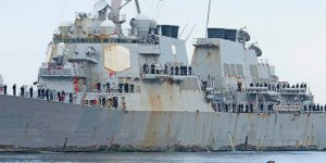 USS Stout returns home after 7 months of deployment