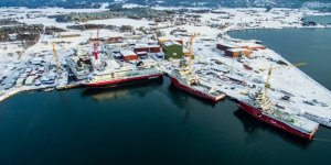 Fosen Yard to complete half-completed LNG-powered ferry Honfleur