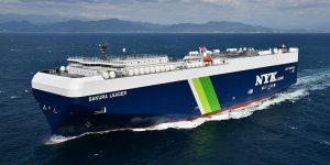 Nippon Yusen Kaisha receives first Japan-built LNG-fuelled PCTC