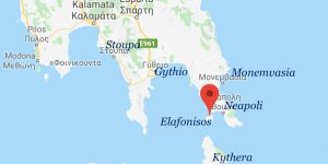 Cargo ship catches on fire off Elafonisos, Greece