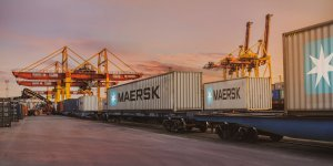Maersk doubles capacity on weekly ocean-rail service in Asia/Europe routes