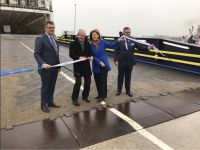 P&O Ferries opens expanded terminal in Zeebrugge