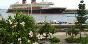 Disney Wonder on her way to Florida