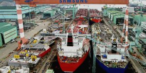 Samsung Heavy receives $2.5 billion ship block order
