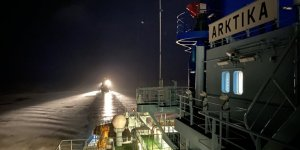 The Arktika icebreaker completes its first task in the Northern Sea Route