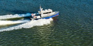 Damen Shipyards Group delivers crew transfer vessel to Total Offshore