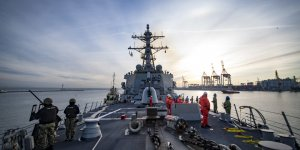 USS Donald Cook arrives in the Black Sea