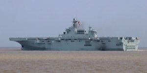 China's new assault ship starts the second round of sea trials