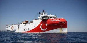 Oruç Reis survey vessel back in port ahead of EU summit