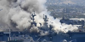 US Navy decides to scrap USS Bonhomme Richards