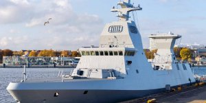 Israel receives its most advanced warship from German