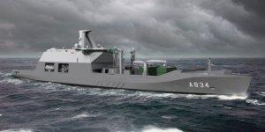 Damen Shipyards to construct Dutch Navy's combat support ship